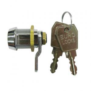 Lukko ja 2 kpl Euro-Locks -avainta muovirasiaan
