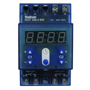 DCH 036 TC Theben 2h-digitaalinen kellokytkin