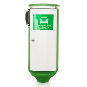 Latausasema 11kW Type2 pistoke vasen, kWh-mittari, Schuko,eT