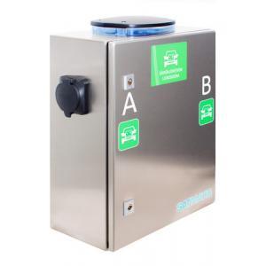 Seinäasennettava latausasema 2*22kW (3*32A Type2), ei optioi